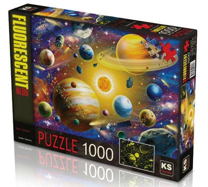 Solar System  (Fosforlu-Neon)   1000P resmi
