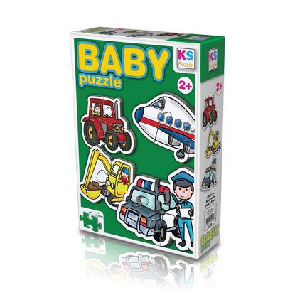 Baby Puzzle Taşıtlar resmi