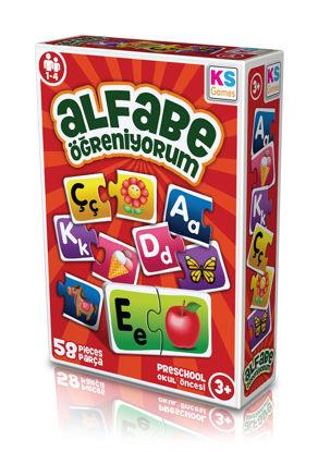 Alfabe Öğreniyorum resmi