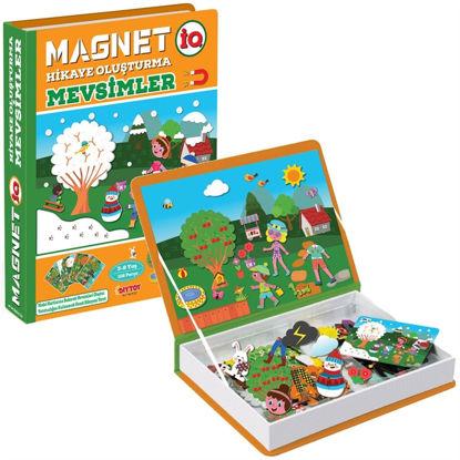 Magnet Hikaye Oluşturma Mevsimler resmi