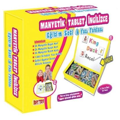 Manyetik Tablet İngilizce resmi