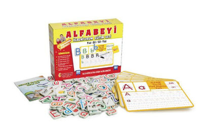 Alfabeyi Öğreniyorum Egitim Seti resmi