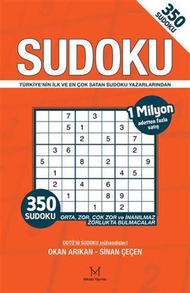 350 Sudoku (Turuncu Kapak) resmi
