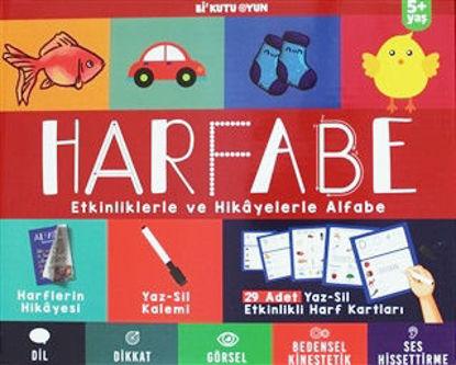Harfabe - Etkinliklerle ve Hikayelerle Alfabe resmi